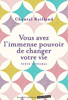 Livres Couvertures de Vous avez l'immense pouvoir de changer votre vie