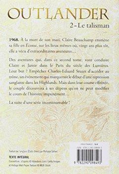 Livres Couvertures de Outlander, Tome 2 : Le talisman