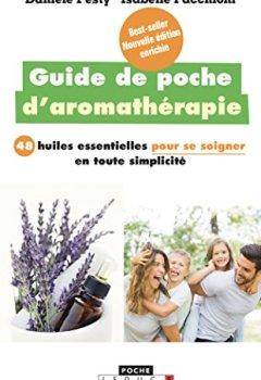 Livres Couvertures de Guide de poche d'aromathérapie