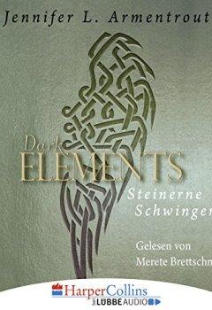 Buchdeckel von Steinerne Schwingen (Dark Elements 1)