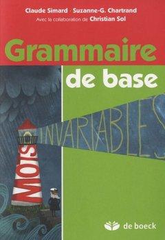 Livres Couvertures de Grammaire de base : Manuel de l'élève