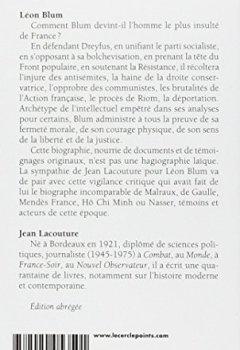 Livres Couvertures de Léon Blum
