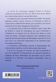 Livres Couvertures de Vocabulaire Thématique Espagnol Contemporain