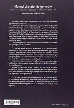Livres Couvertures de Manuel d'anatomie générale