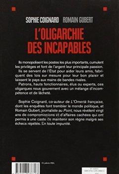 Livres Couvertures de L'oligarchie des incapables
