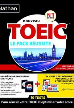 Livres Couvertures de Pack réussite Nouveau TOEIC® (conforme au test Toeic® en vigueur à partir de juin 2018)