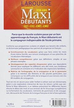 Livres Couvertures de Larousse dictionnaire Maxi DEBUTANTS