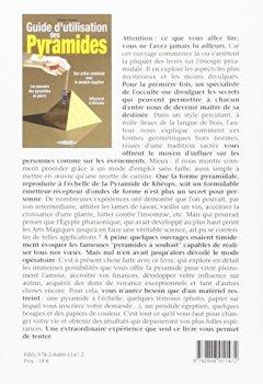 Livres Couvertures de Guide d'utilisation des pyramides