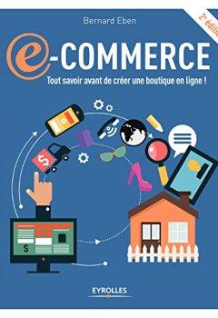 Livres Couvertures de E-commerce: Tout savoir avant de créer une boutique en ligne !
