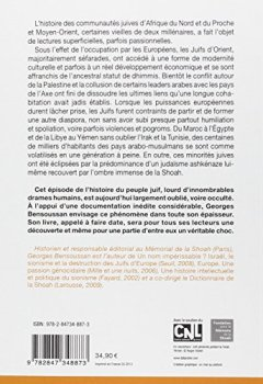 Livres Couvertures de Juifs en pays arabes : Le grand déracinement 1850-1975