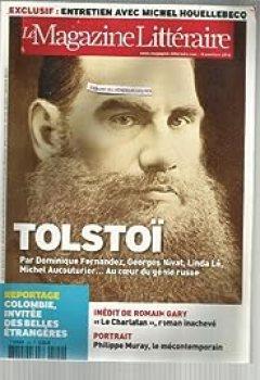 Livres Couvertures de Le Magazine Littéraire n°502. Tolstoï