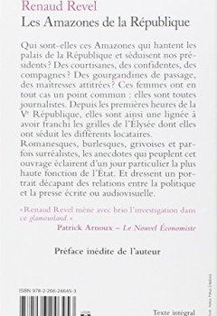 Livres Couvertures de Les amazones de la République [ Format: POCHE ]