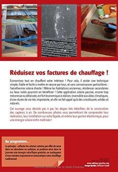 Livres Couvertures de Les capteurs solaires à air : Réaliser,  Installer, Gérer