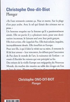 Livres Couvertures de Plonger - Prix de l'Académie française 2013 et Prix Renaudot des Lycéens 2013