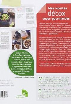 Livres Couvertures de Mes recettes détox super gourmandes