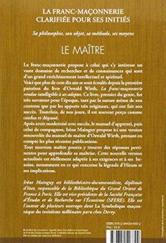 Livres Couvertures de La Franc-maçonnerie clarifiée pour ses initiés : Tome 3 - Le maitre