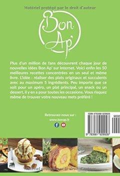 Livres Couvertures de La cuisine en 5 ingrédients: 50 recettes délicieuses et originales avec 5 ingrédients maximum. (livre de recettes)