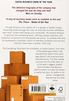 Livres Couvertures de The Everything Store: Jeff Bezos and the Age of Amazon