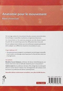 Livres Couvertures de Anatomie pour le Mouvement - T2 : Bases d'Exercices