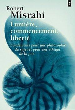 Livres Couvertures de Lumière, commencement, liberté