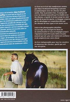 Livres Couvertures de Lorsque les chevaux nous parlent : Langage corporel et équitation positive