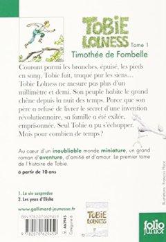 Livres Couvertures de Tobie Lolness (Tome 1-La vie suspendue)