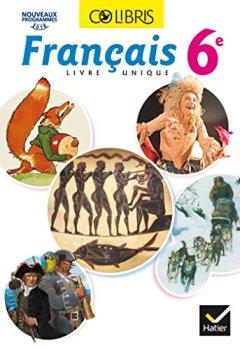 Livres Couvertures de Colibris Français 6e - Manuel de l'élève (Inclus
