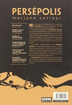 Portada del libro dePersépolis Ed bolsillo castellano nueva portada (Comic Europeo (norma))