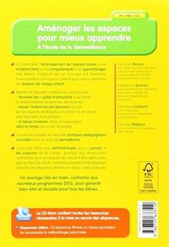 Livres Couvertures de Aménager les espaces pour mieux apprendre (+ CD-Rom )