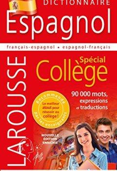 Livres Couvertures de Dictionnaire Espagnol - Spécial Collège