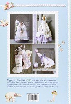 Portada del libro deLabores Decorativas TIDA Con Motivos Invernales Para Decorar La Casa (Labores (drac))