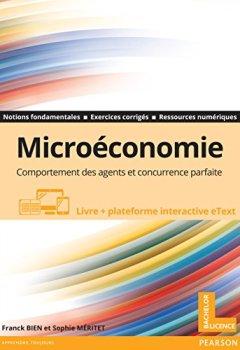 Livres Couvertures de Microéconomie : Comportement des agents et concurrence parfaite - Livre + plateforme interactive eText