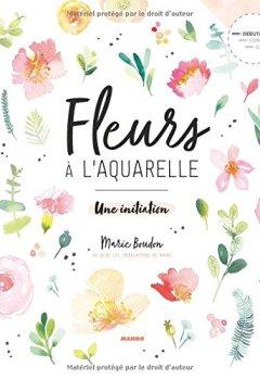 Livres Couvertures de Fleurs à l'aquarelle : Une initiation
