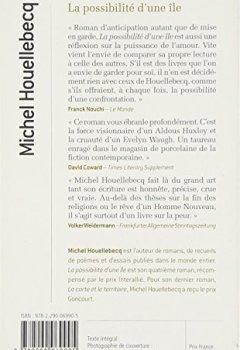 Livres Couvertures de La possibilité d'une île - Prix Interallié 2005