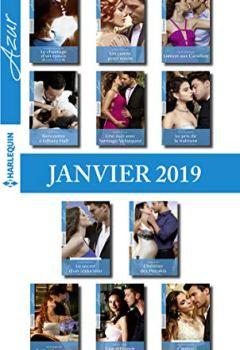 Livres Couvertures de 11 romans Azur + 1 gratuit (nº4037 à 4047 - Janvier 2019)