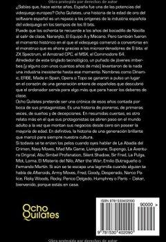 Portada del libro deOcho Quilates: Una historia de la Edad de Oro del software español (1983 - 1986)