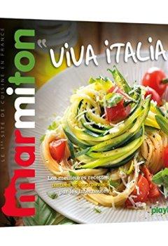 Livres Couvertures de Viva Italia ! Les meilleures recettes Marmiton - cuisine italienne