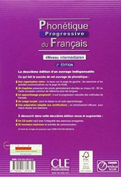Phonétique progressive du français - Niveau intermédiaire - Livre + CD - 2ème édition de Indie Author