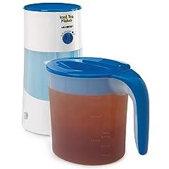 Mr. Coffee TM70 3-Quart Iced Tea Maker, 3-Quart