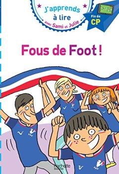 Livres Couvertures de Sami et Julie CP Niv 3 Fous de foot !