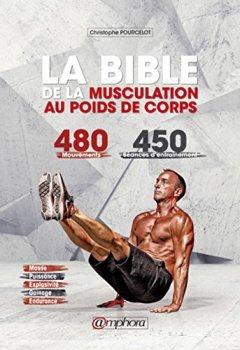 Livres Couvertures de La Bible de la Musculation au Poids de Corps