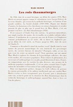 Livres Couvertures de Les rois thaumaturges: Étude sur le caractère surnaturel attribué à la puissance royale, particulièrement en France et en Angleterre