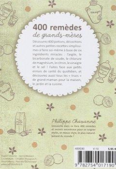 Livres Couvertures de 400 remèdes de grands-mères