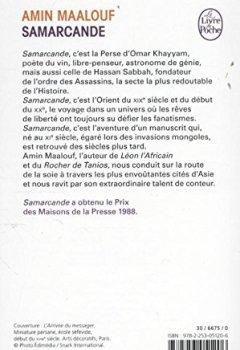 Livres Couvertures de Samarcande