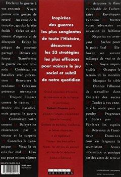 Livres Couvertures de Stratégie, les 33 lois de la guerre