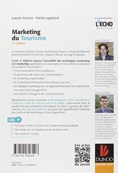Livres Couvertures de Marketing du tourisme - 3e éd.