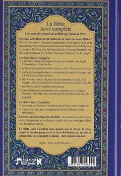 Livres Couvertures de La Bible Juive complète : Une version française du Tanakh (Ancien testament) et de la Brit Hadachah (Nouveau Testamen)