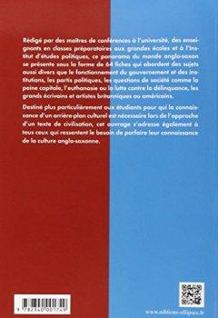 Livres Couvertures de Fiches de Civilisation Américaine et Britannique
