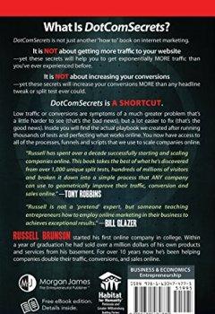 Livres Couvertures de Dotcom Secrets: The Underground Playbook for Growing Your Company Online