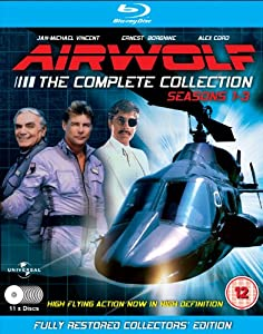 Airwolf - The Complete Collection: Seasons 1-3 - 11 Disc Set Blu-ray: Amazon.co.uk: Jan-Michael ...